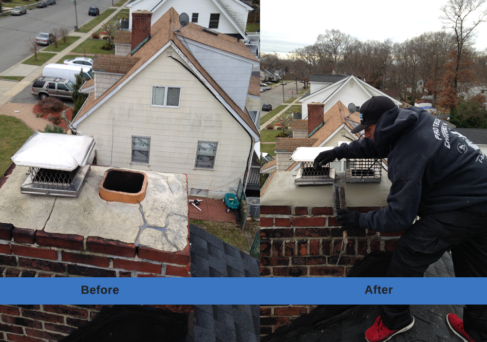 how to clean a chimney liner