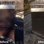 Chimney Cleaning Service – Before and After Image 20