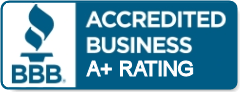 Better Business Bureau – Accredited Business A+ Rating