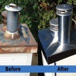 Chimney Cleaning Service – Before and After Image 18