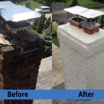 Chimney Repair Service – Before and After Image 16