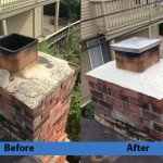 Chimney Cleaning Service – Before and After Image 12
