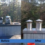 Chimney Cleaning Service – Before and After Image 10