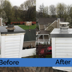 Chimney Cleaning Service – Before and After Image 04