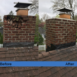 Chimney Repair Service – Before and After Image 03