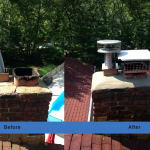 Chimney Repair on Long Island - Before & After