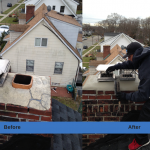 Suffolk Chimney Sweep - Before & After