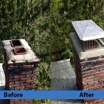 Chimney Repair Service – Before and After Image 24