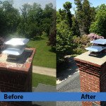 Chimney Cleaning Service – Before and After Image 23